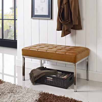 Lyte Two-Seater Bench Tan