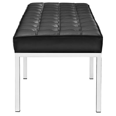 Lyte Three-Seater Bench Black