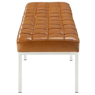 Lyte Three-Seater Bench Tan