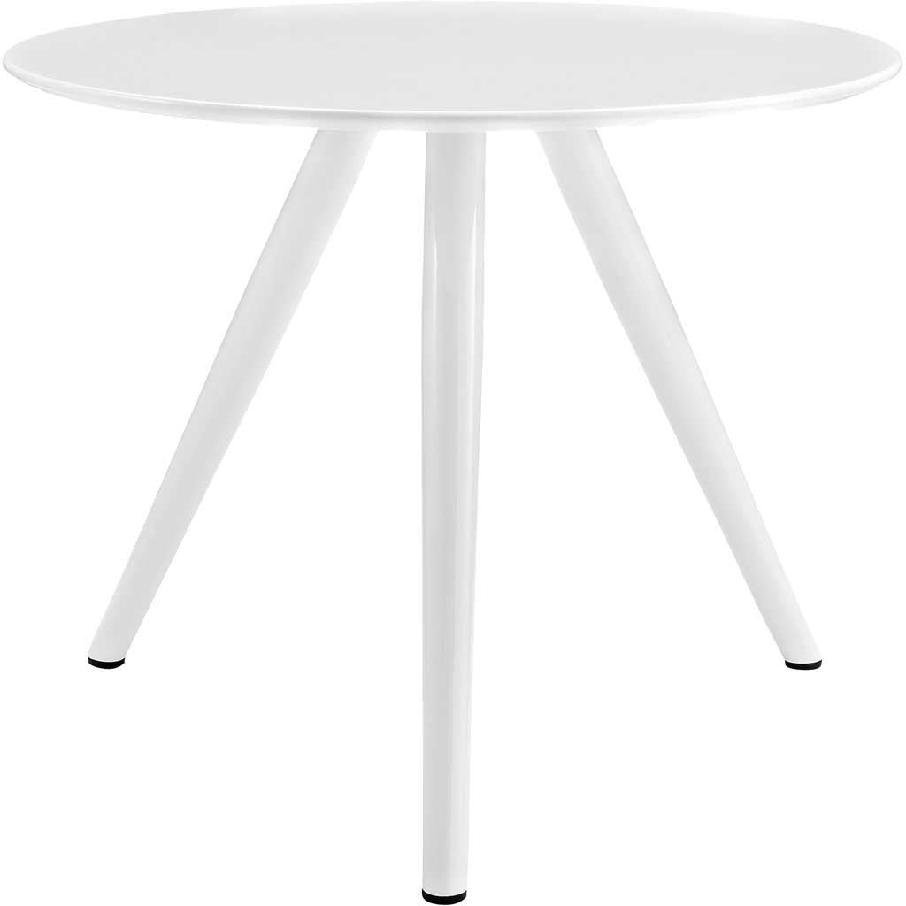 "Lore 36"" Tripod Dining Table White"