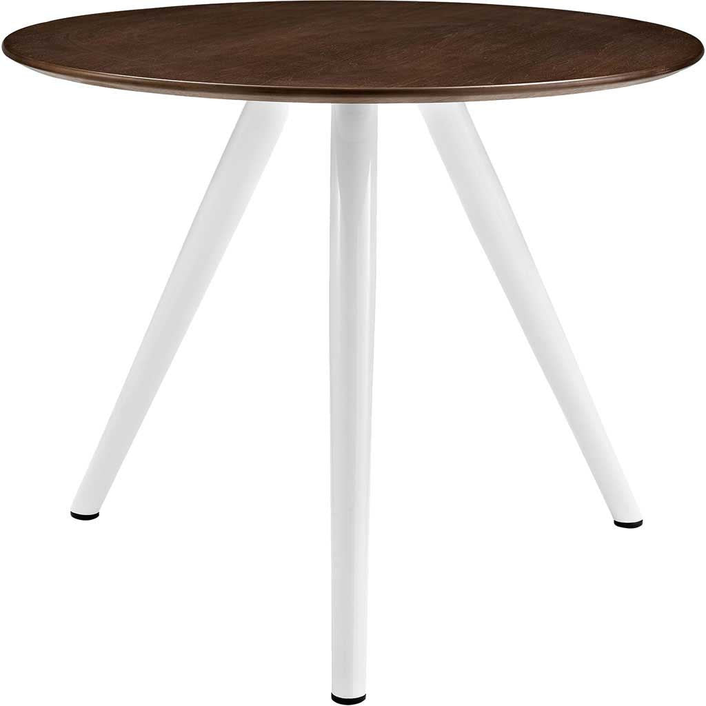 "Lore 36"" Tripod Dining Table Walnut"