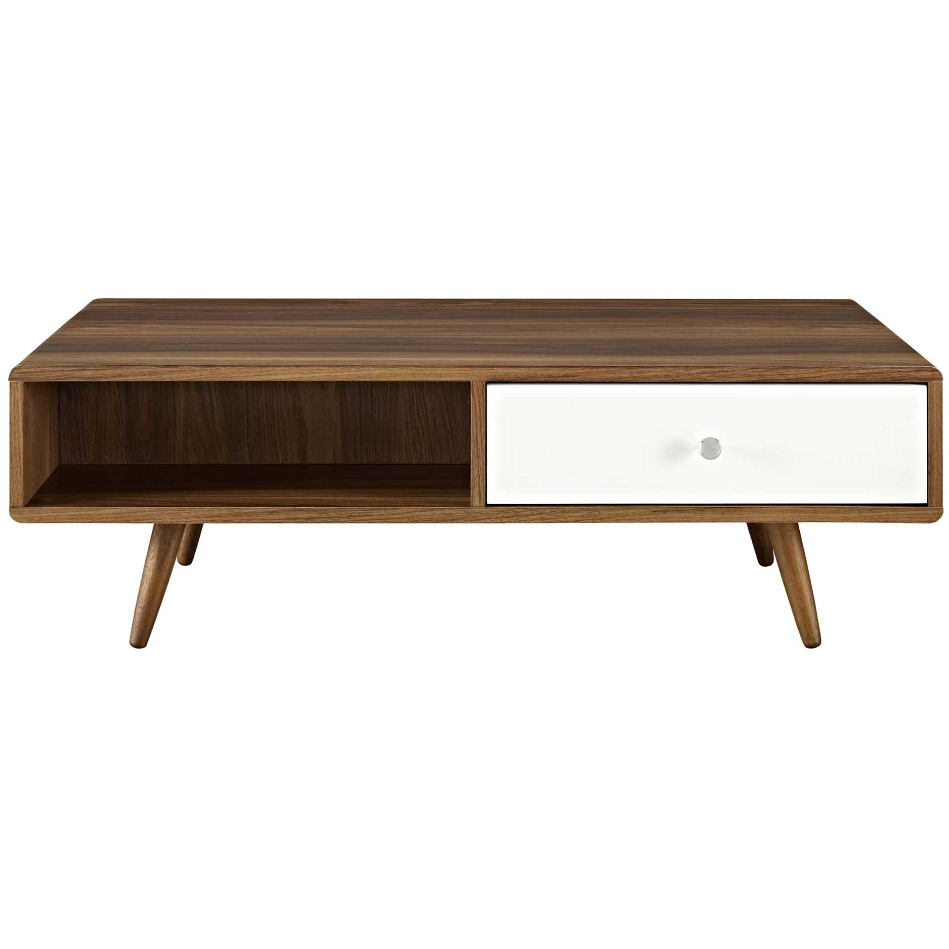 Tiffin Coffee Table Walnut/White