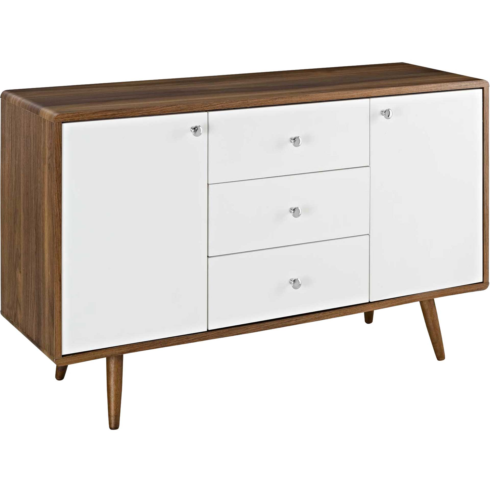 Tiffin Sideboard Walnut/White