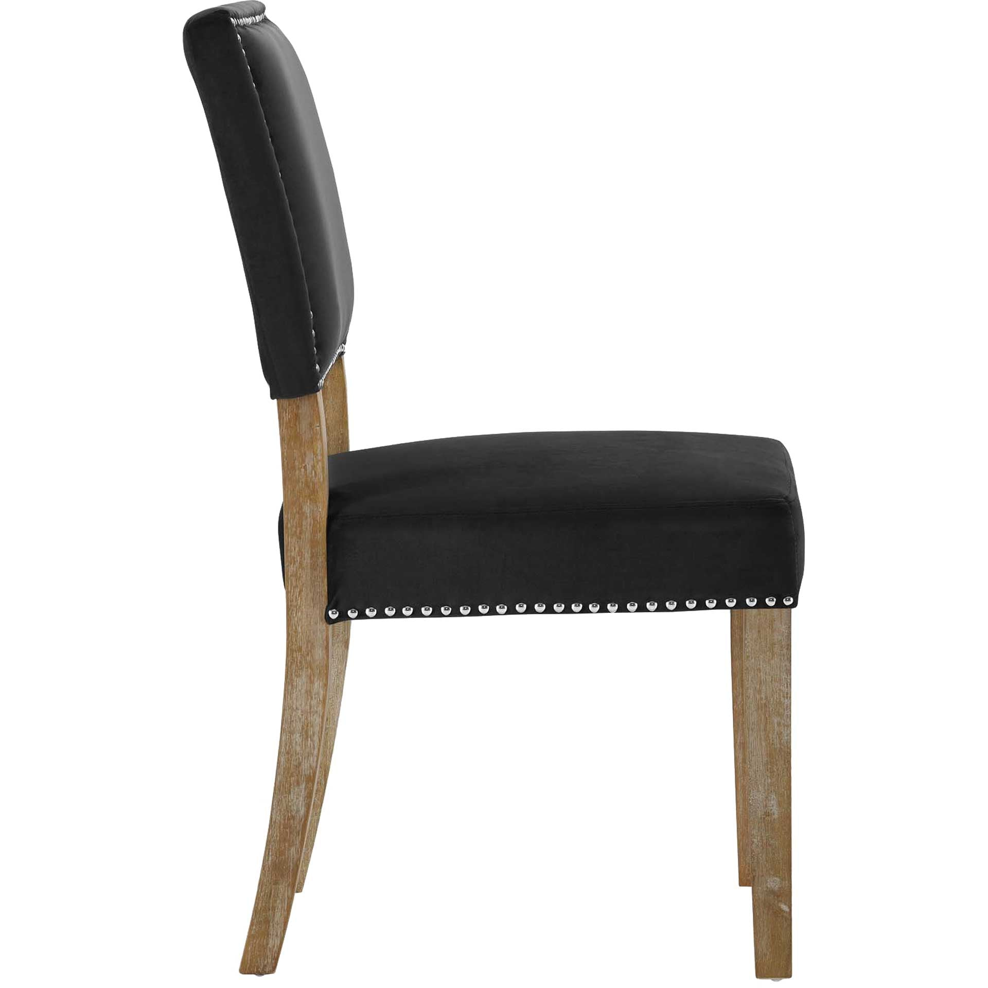 Orwen Wood Dining Chair Black