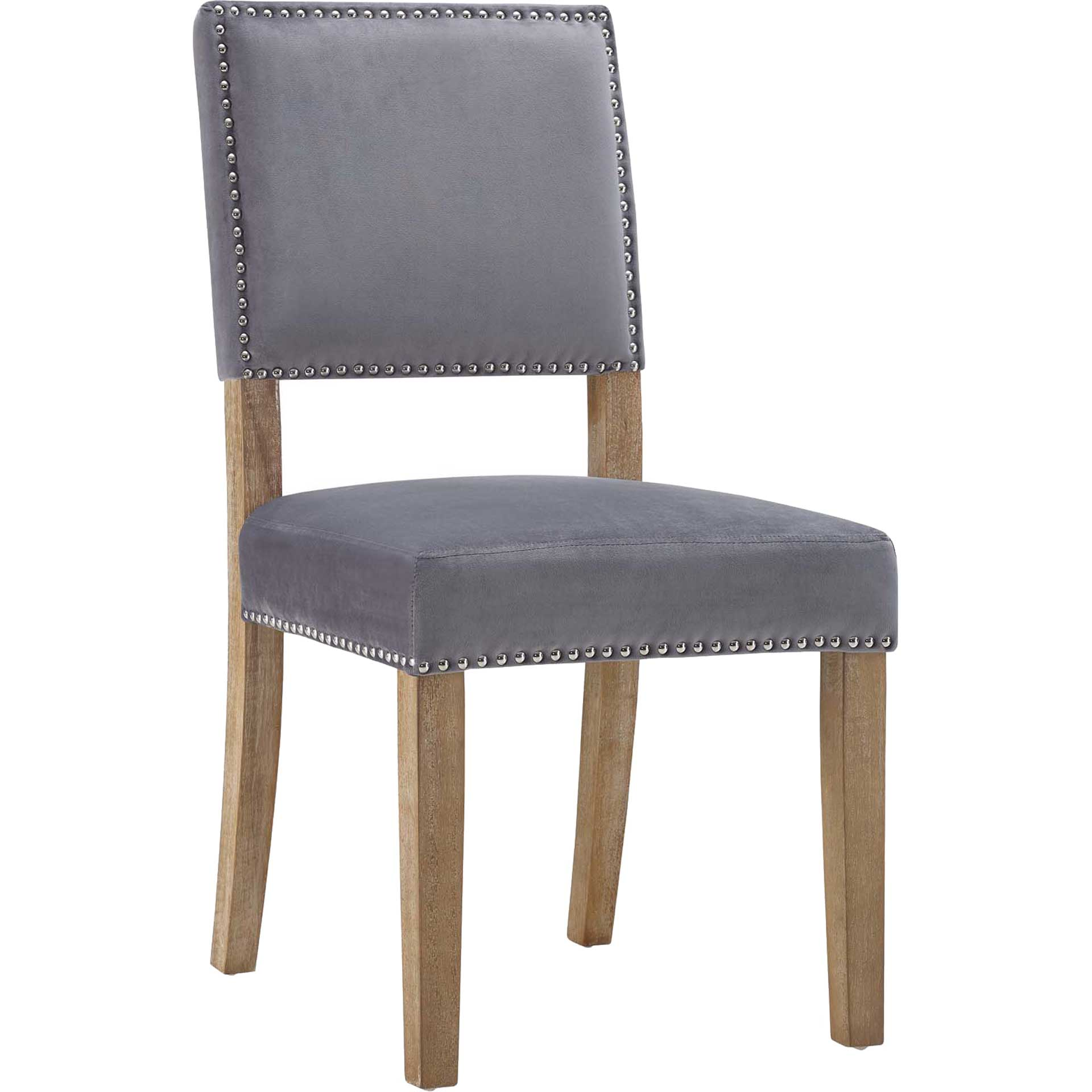 Orwen Wood Dining Chair Gray