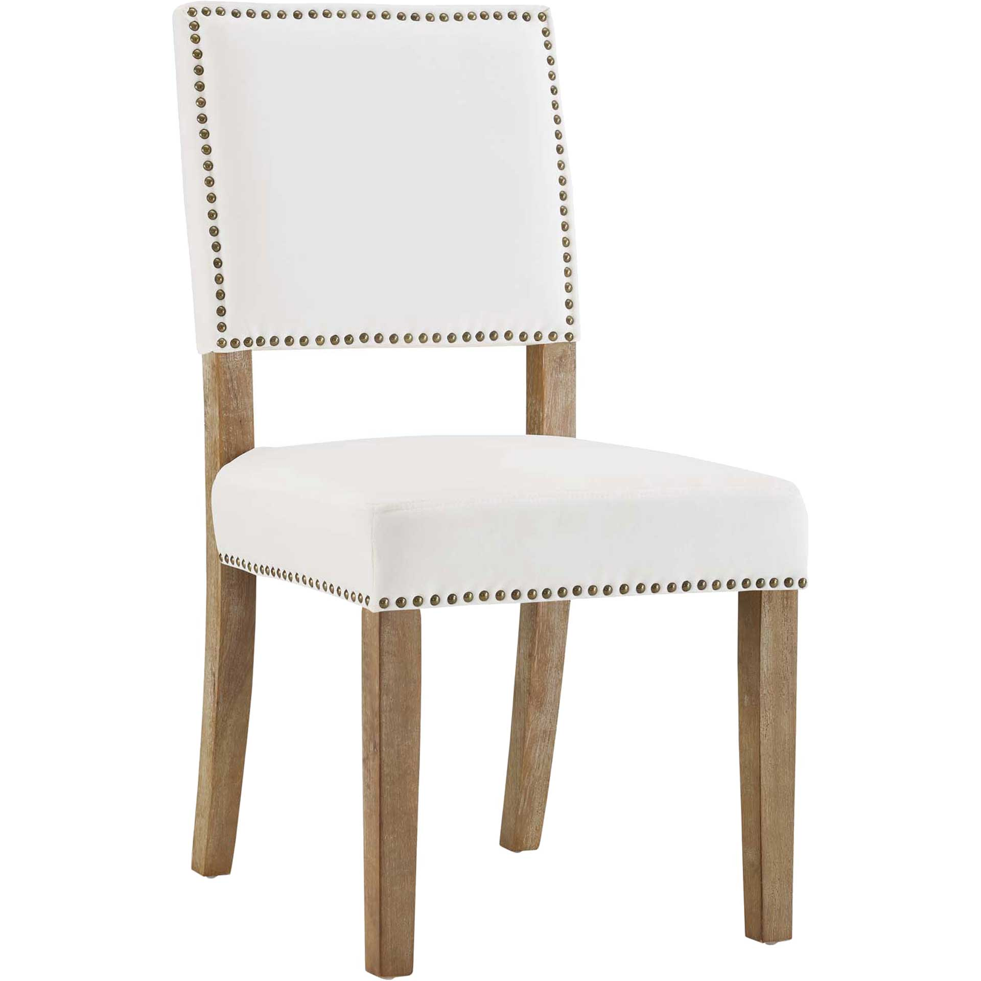 Orwen Wood Dining Chair Ivory