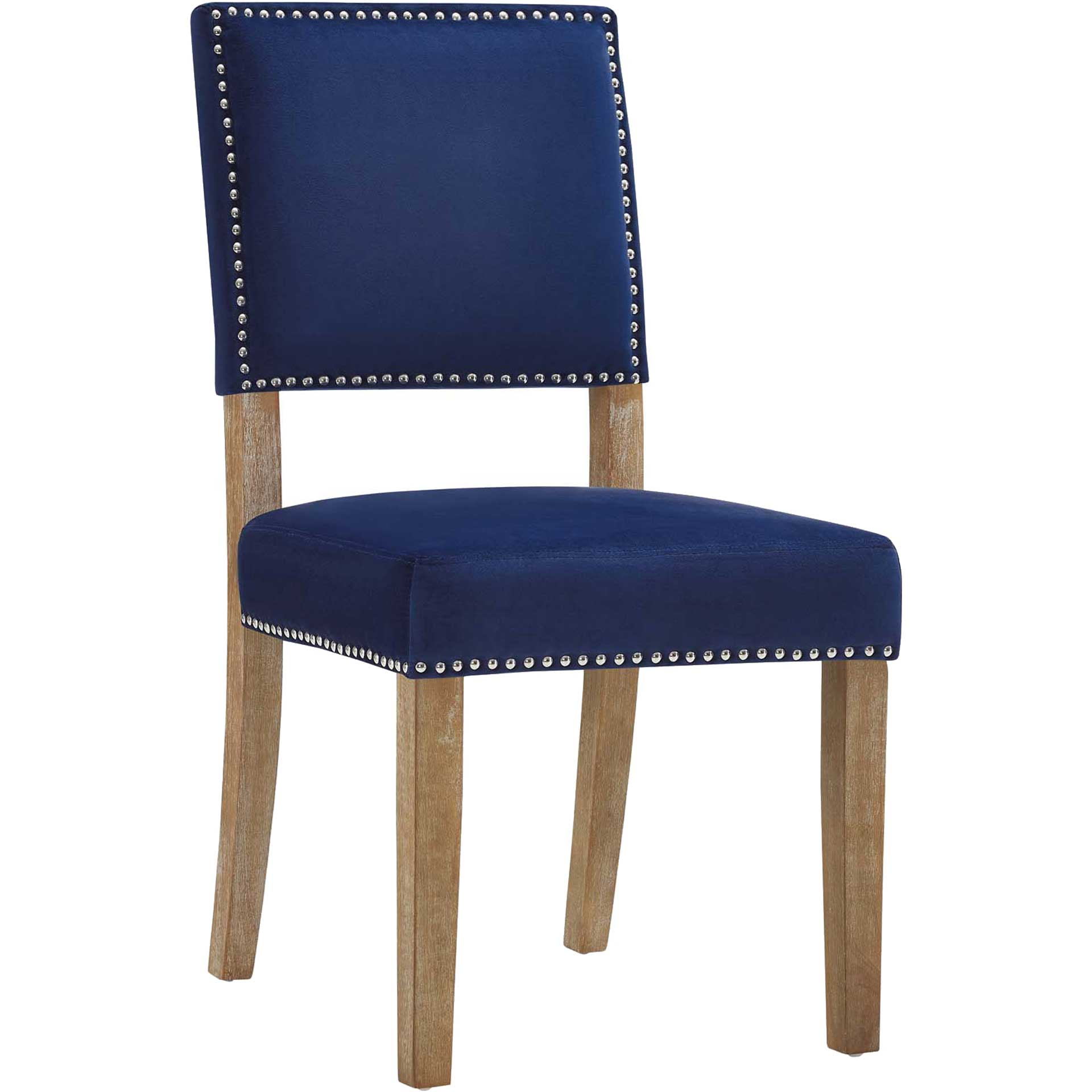 Orwen Wood Dining Chair Navy