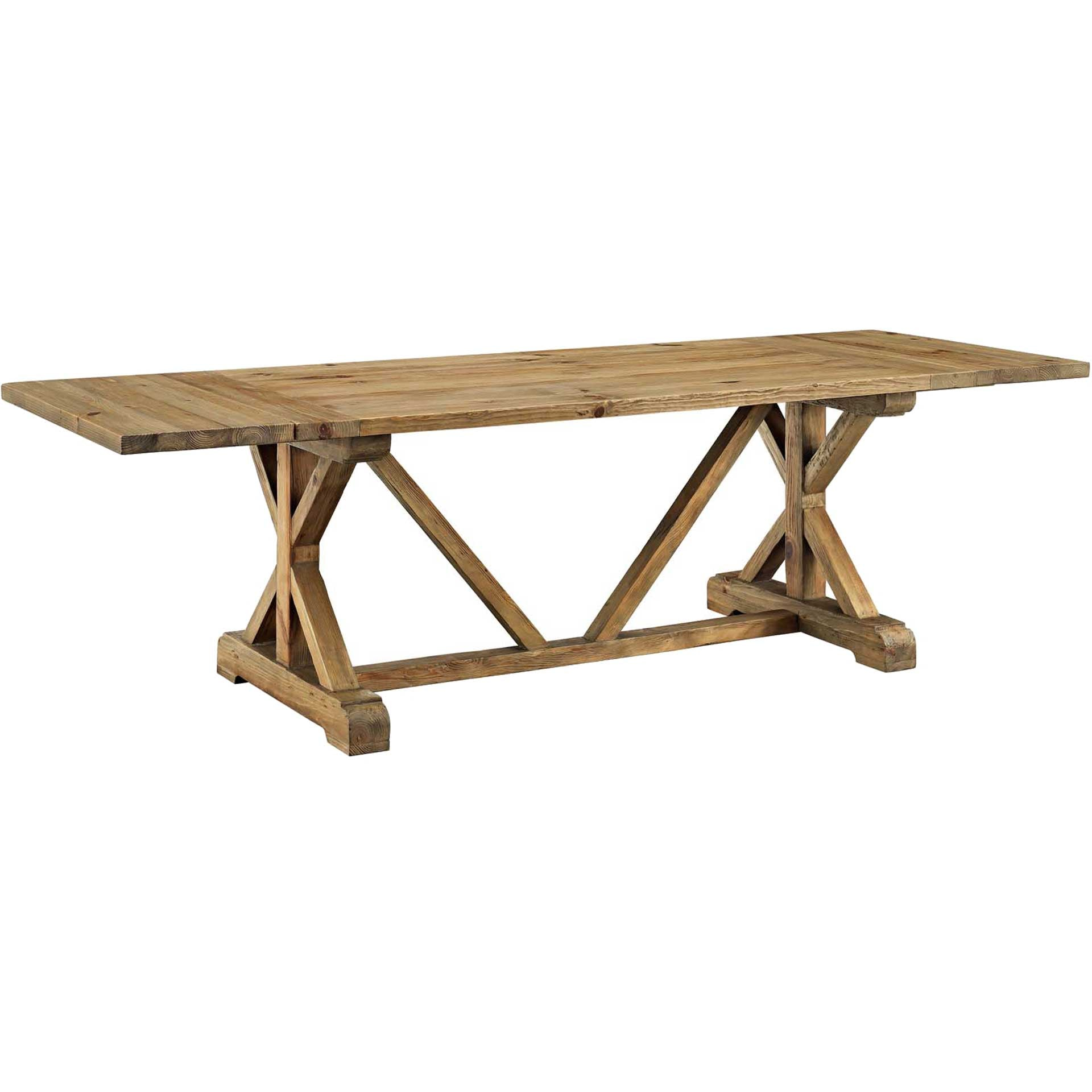 Doyles Extendable Wood Dining Table Brown