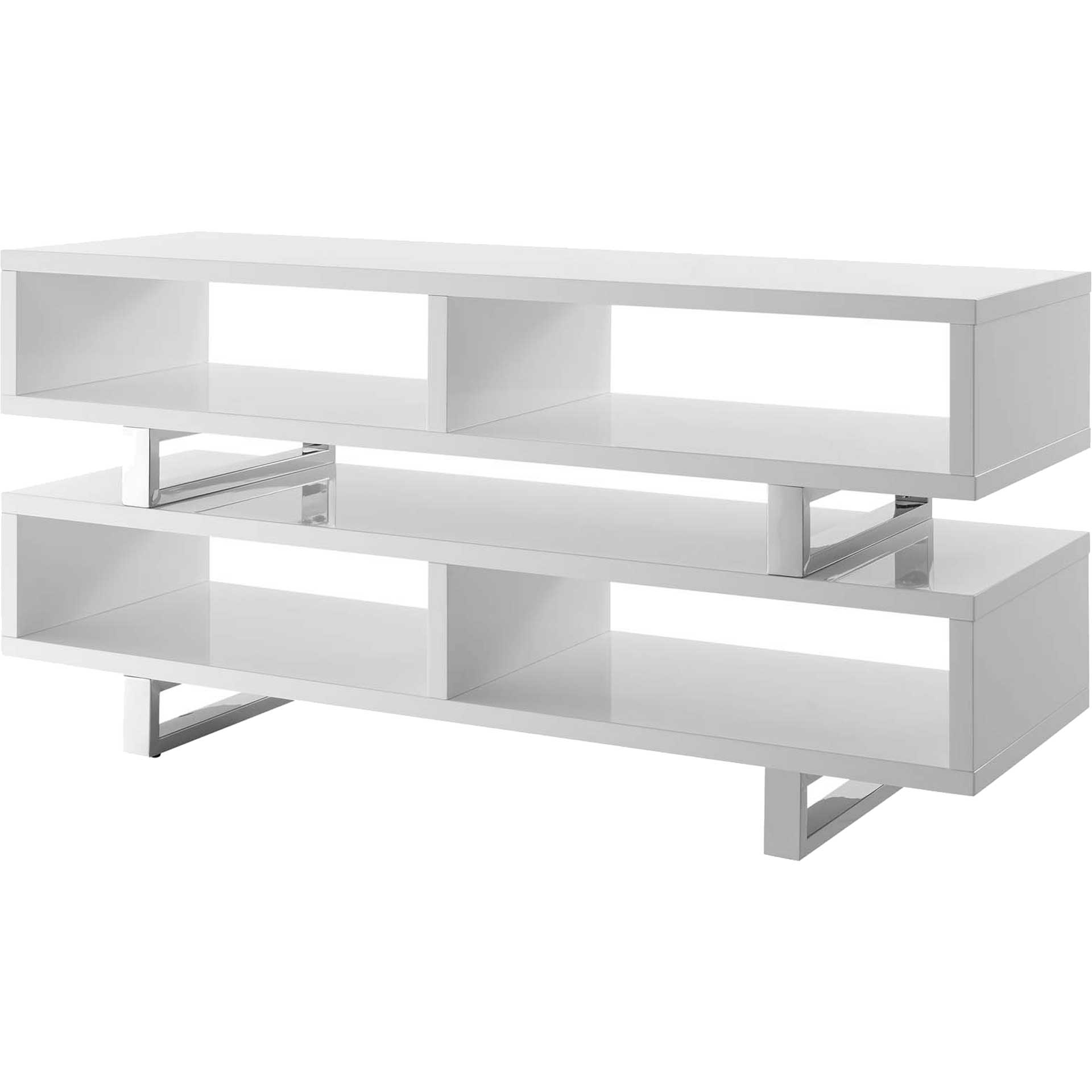 Arise TV Stand White