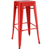 Panora Bar Stool Red