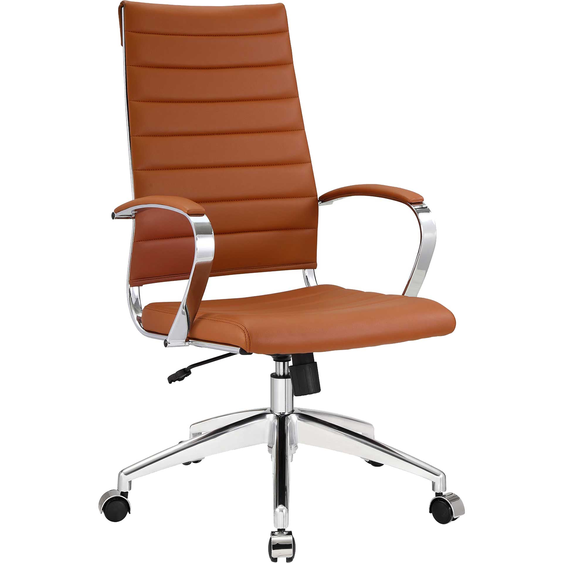 Jaxon High Back Office Chair Terracotta