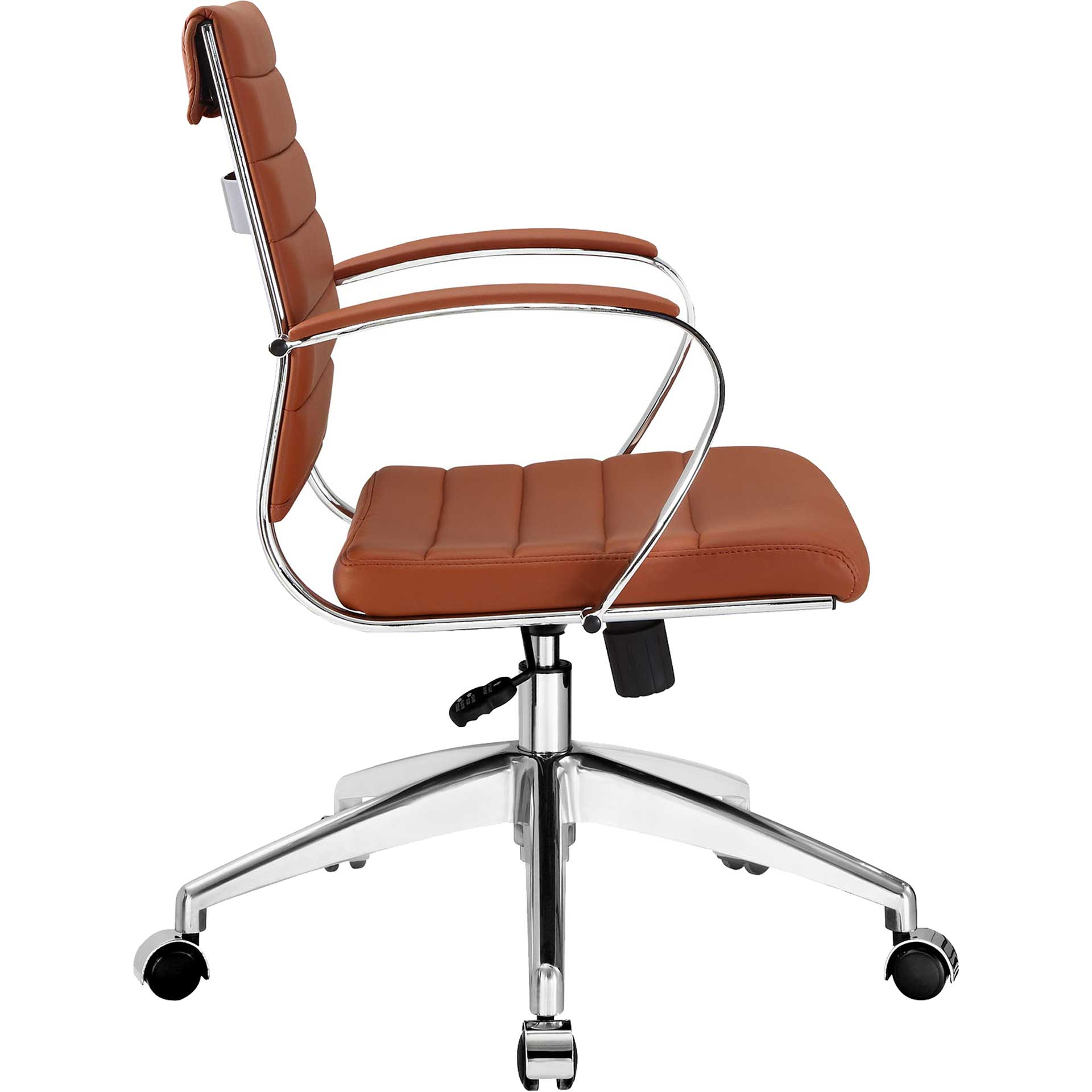 Jaxon Mid Back Office Chair Terracotta