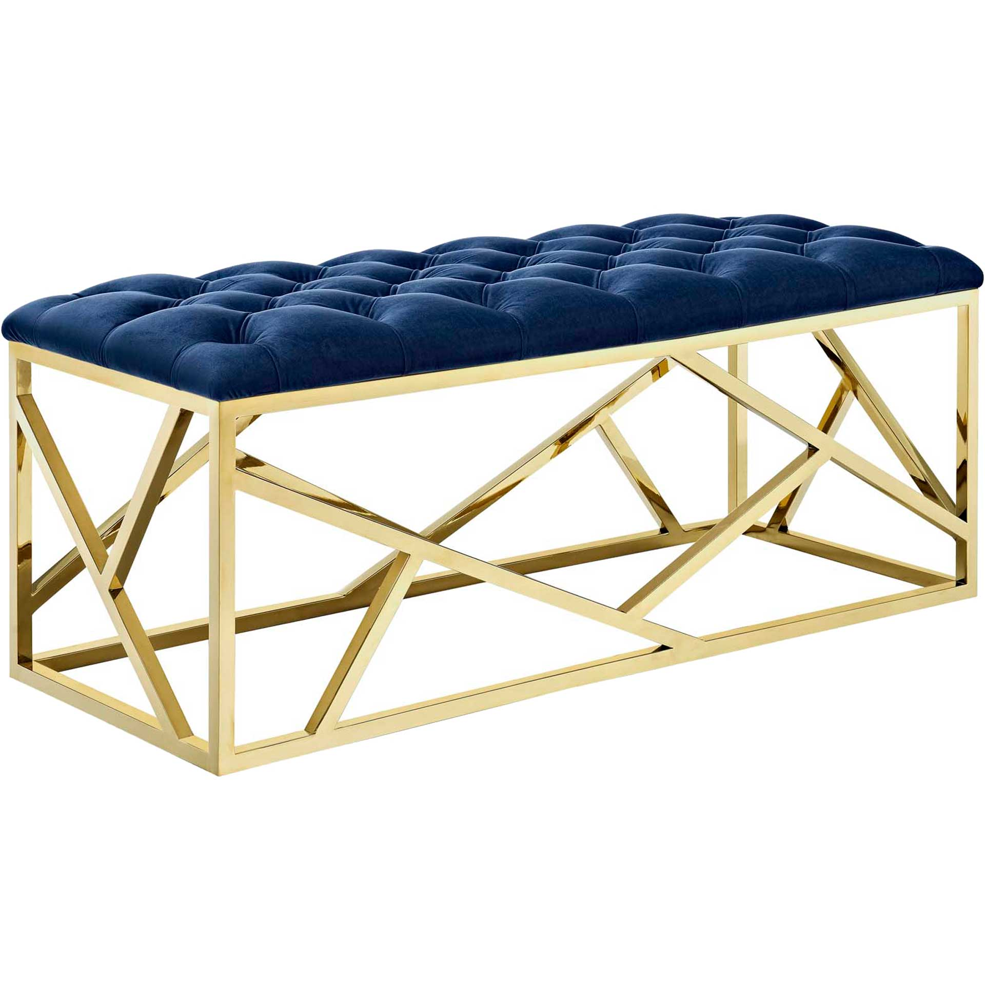 Ismael Bench Gold/Navy