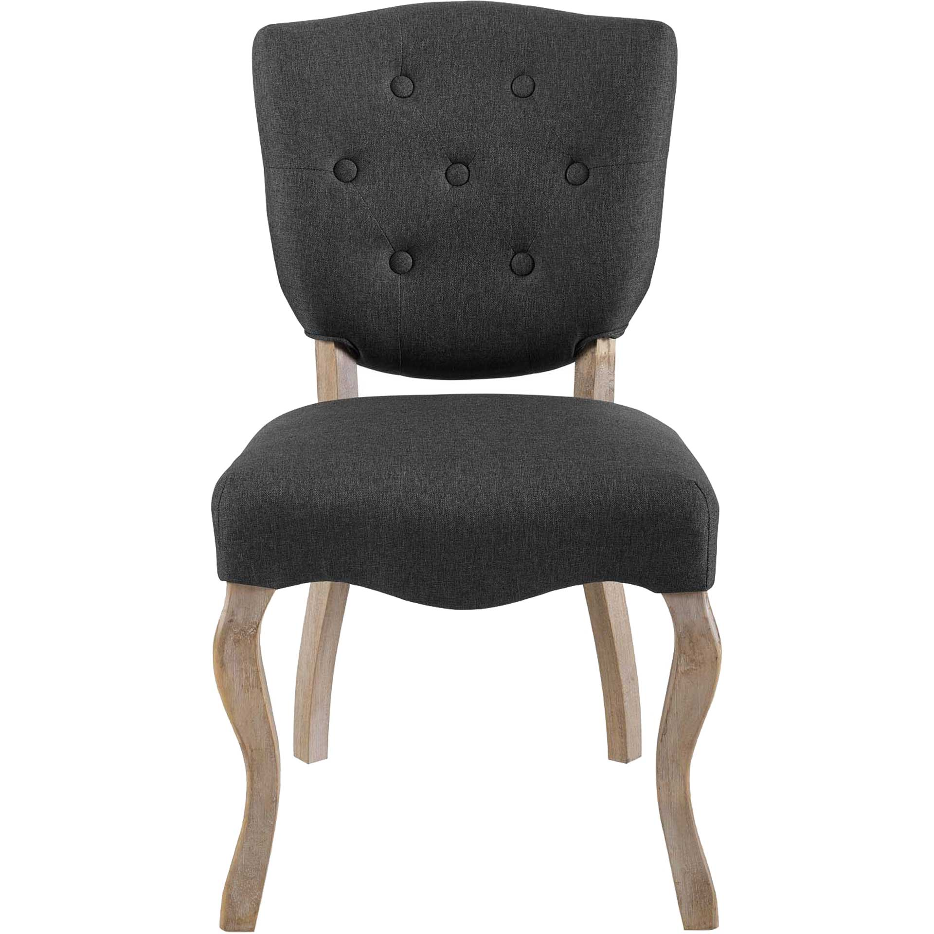 Angie Upholstered Dining Side Chair Gray