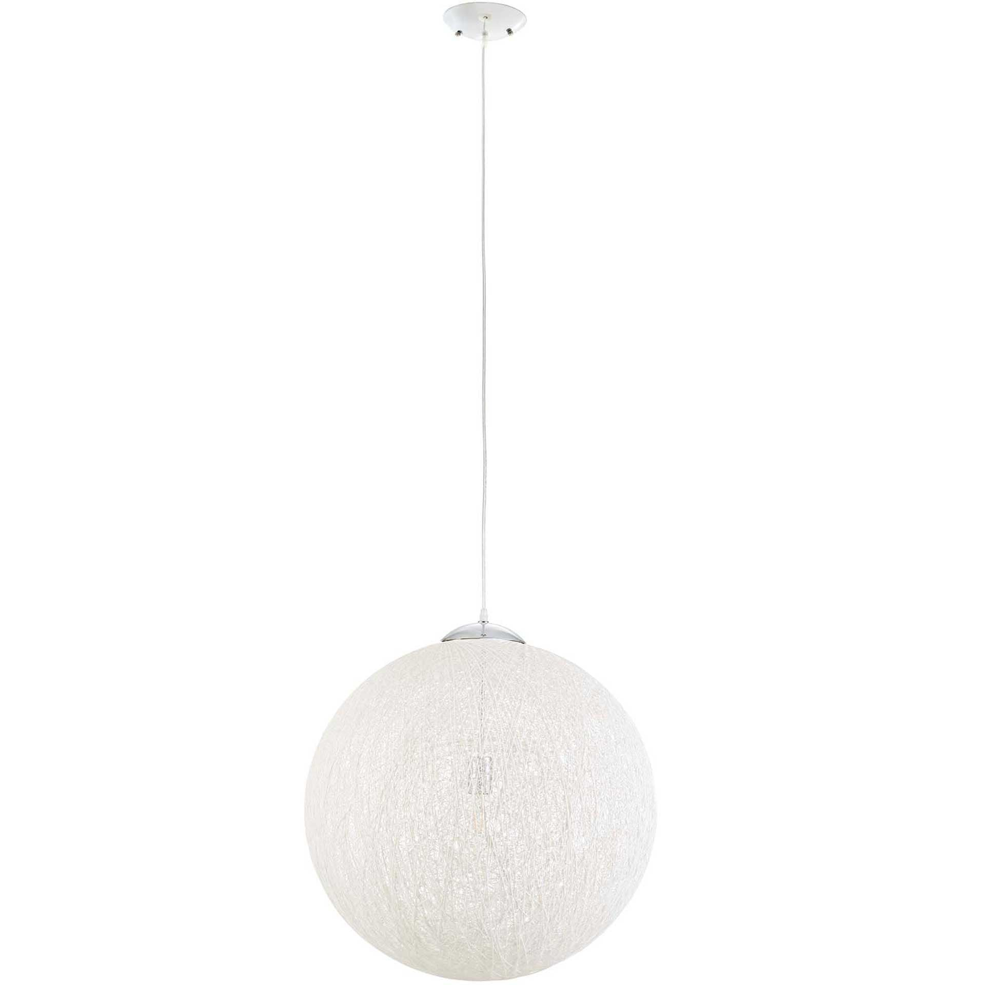 Spot Light Chandelier White