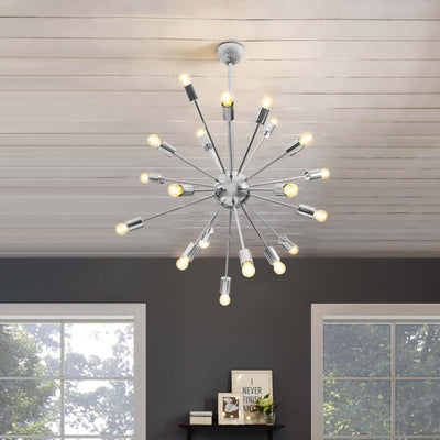 Valley Pendant Chandelier Silver