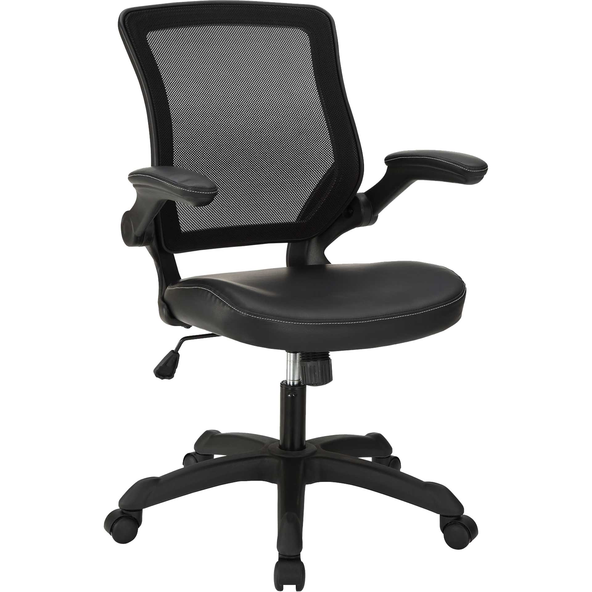 Vincent Vinyl Office Chair Black