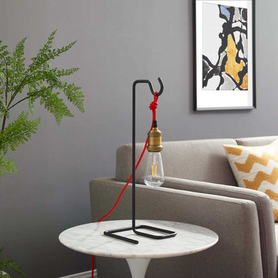 Sariyah Table Lamp Brass Gold/Black