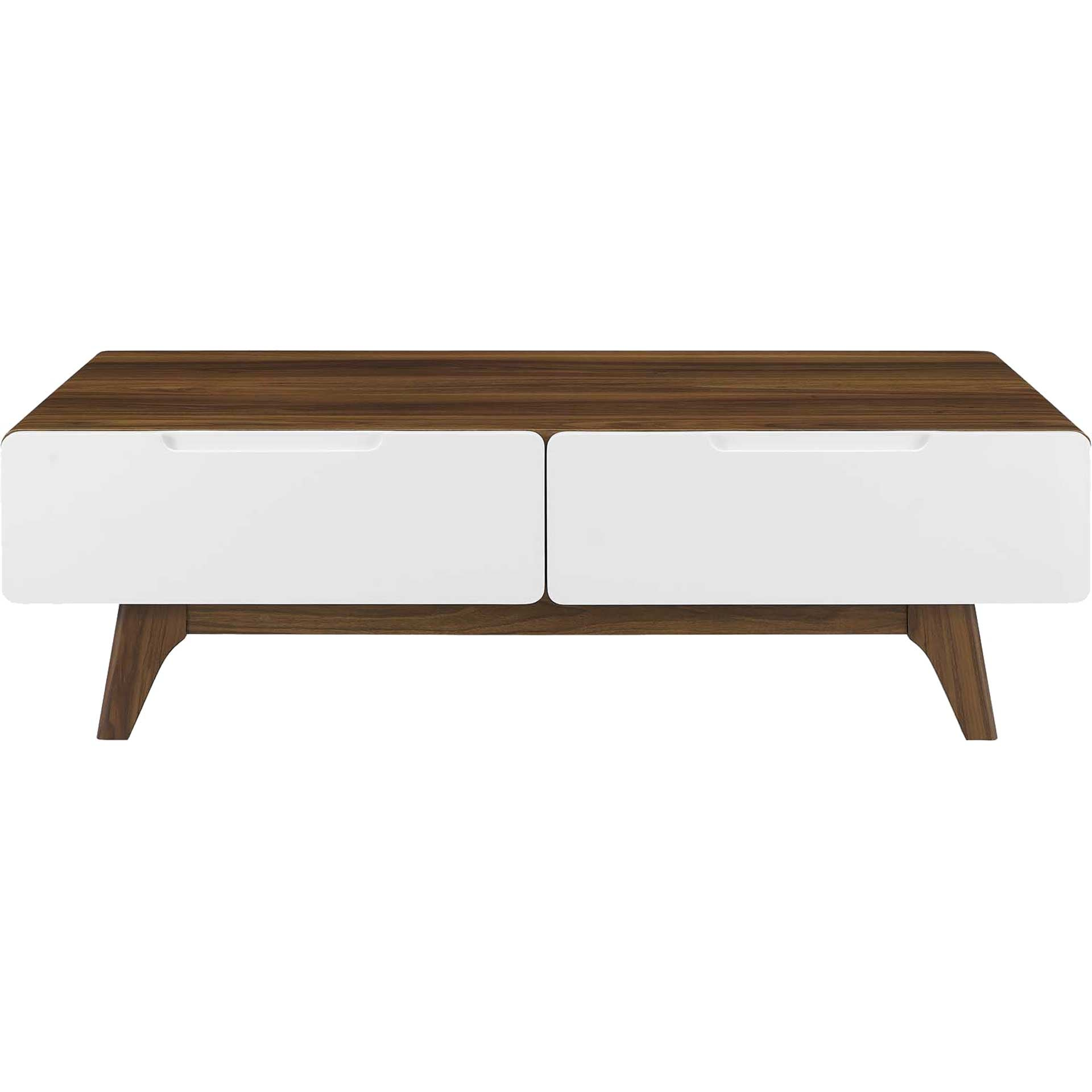 Orion Coffee Table Walnut/White