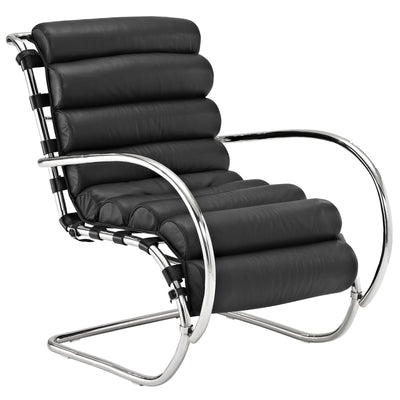 Rest Lounge Chair Black