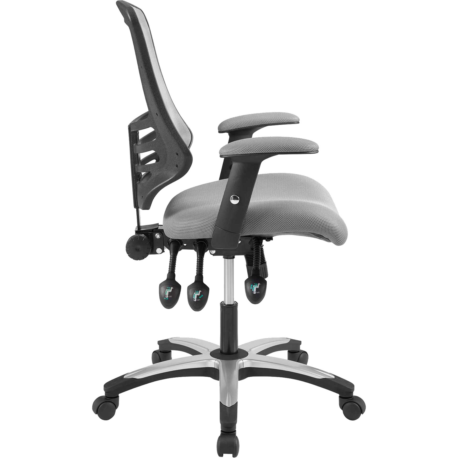Christina Mesh Office Chair Gray