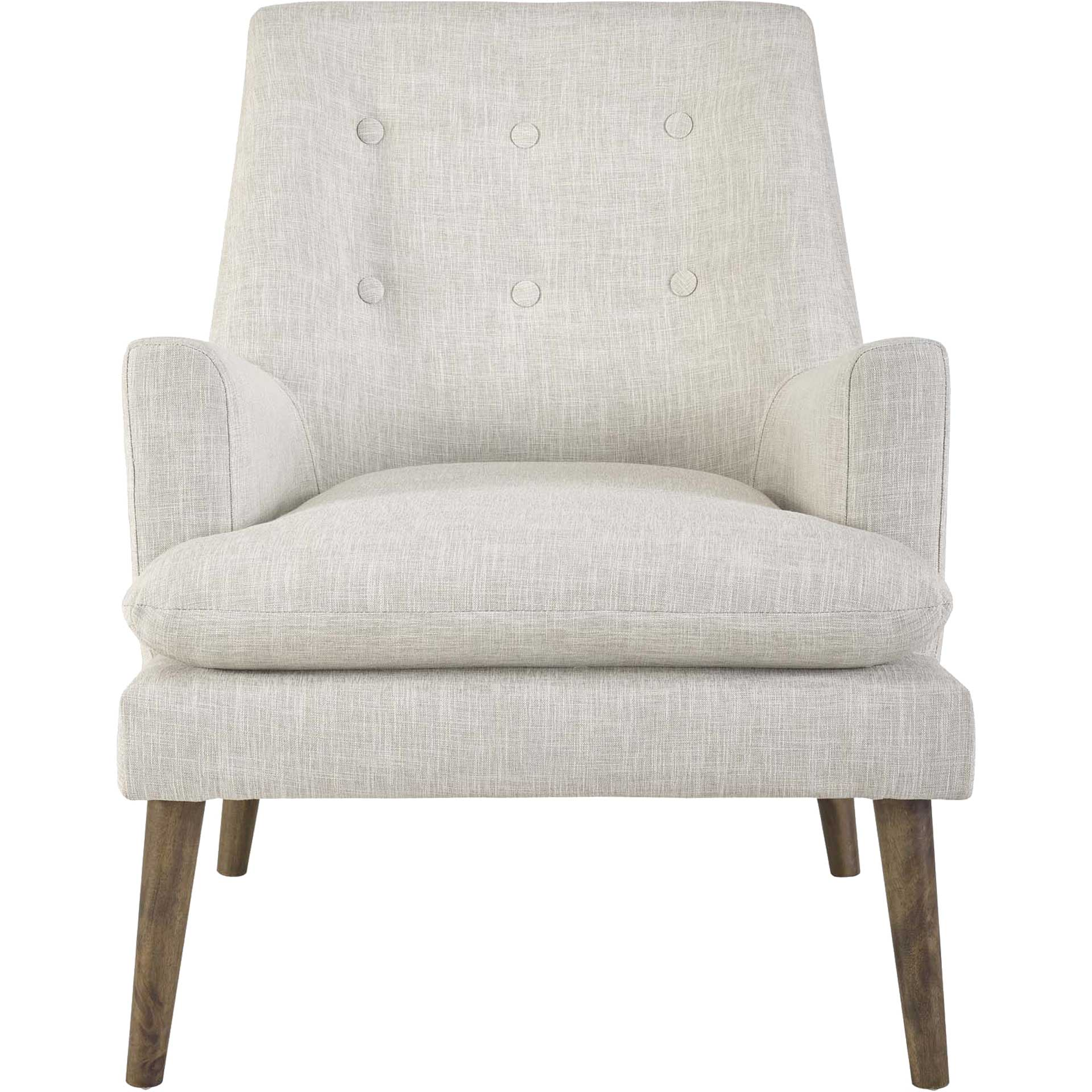 Lucas Upholstered Lounge Chair Beige