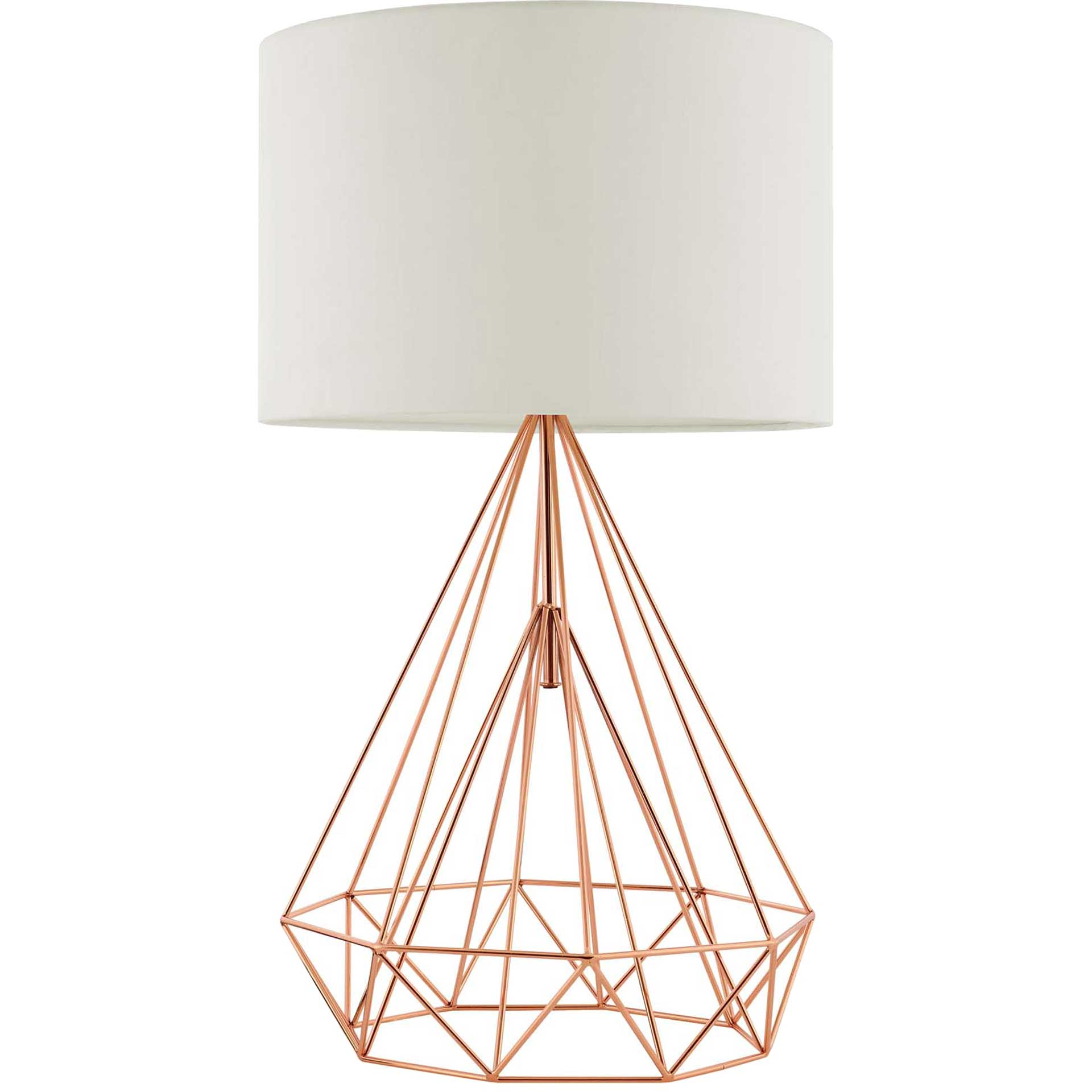 Peter Table Lamp Rose Gold