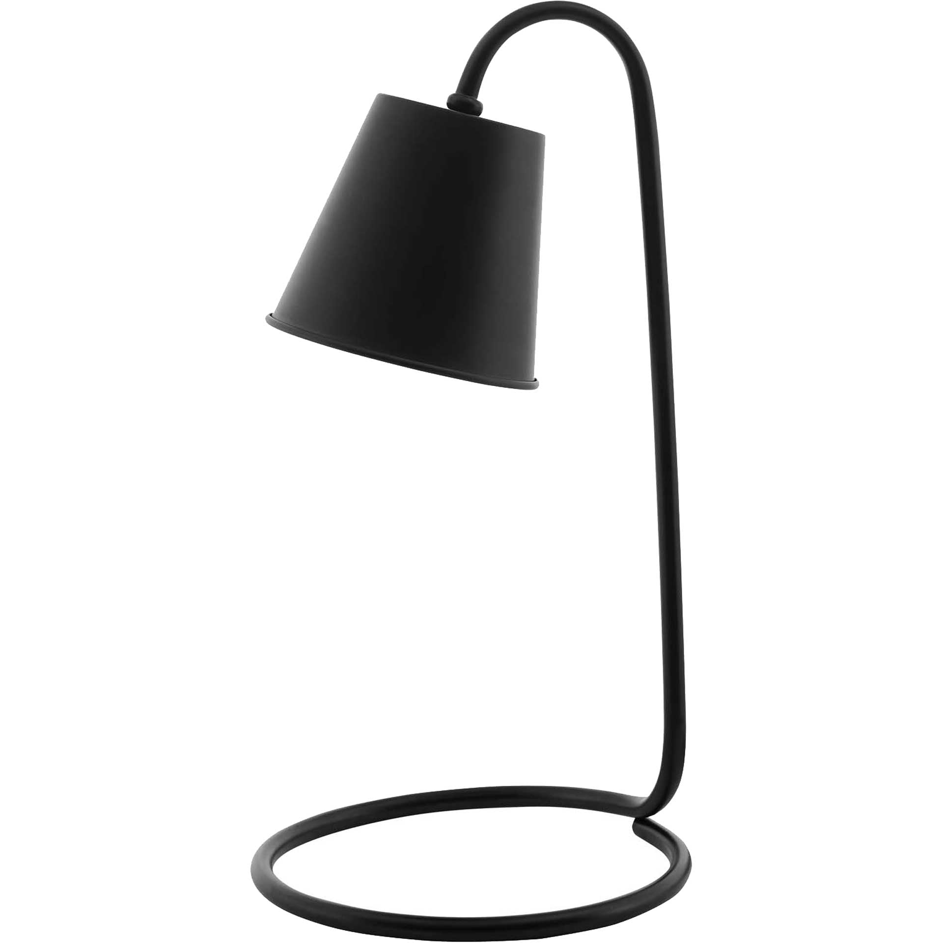 Proton Metal Table Lamp Black