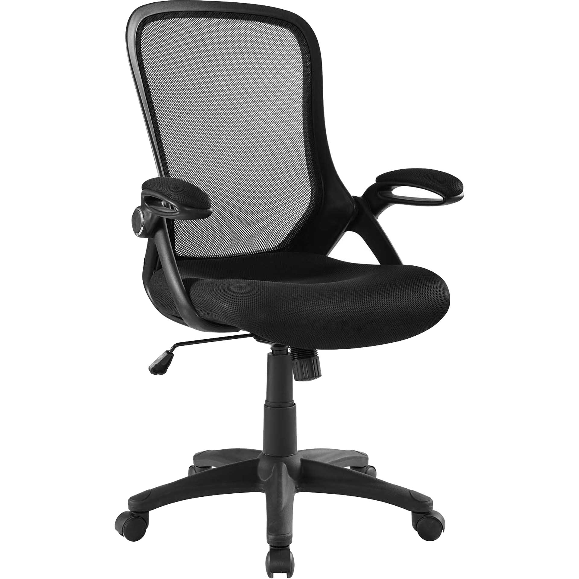 Abram Mesh Office Chair Black