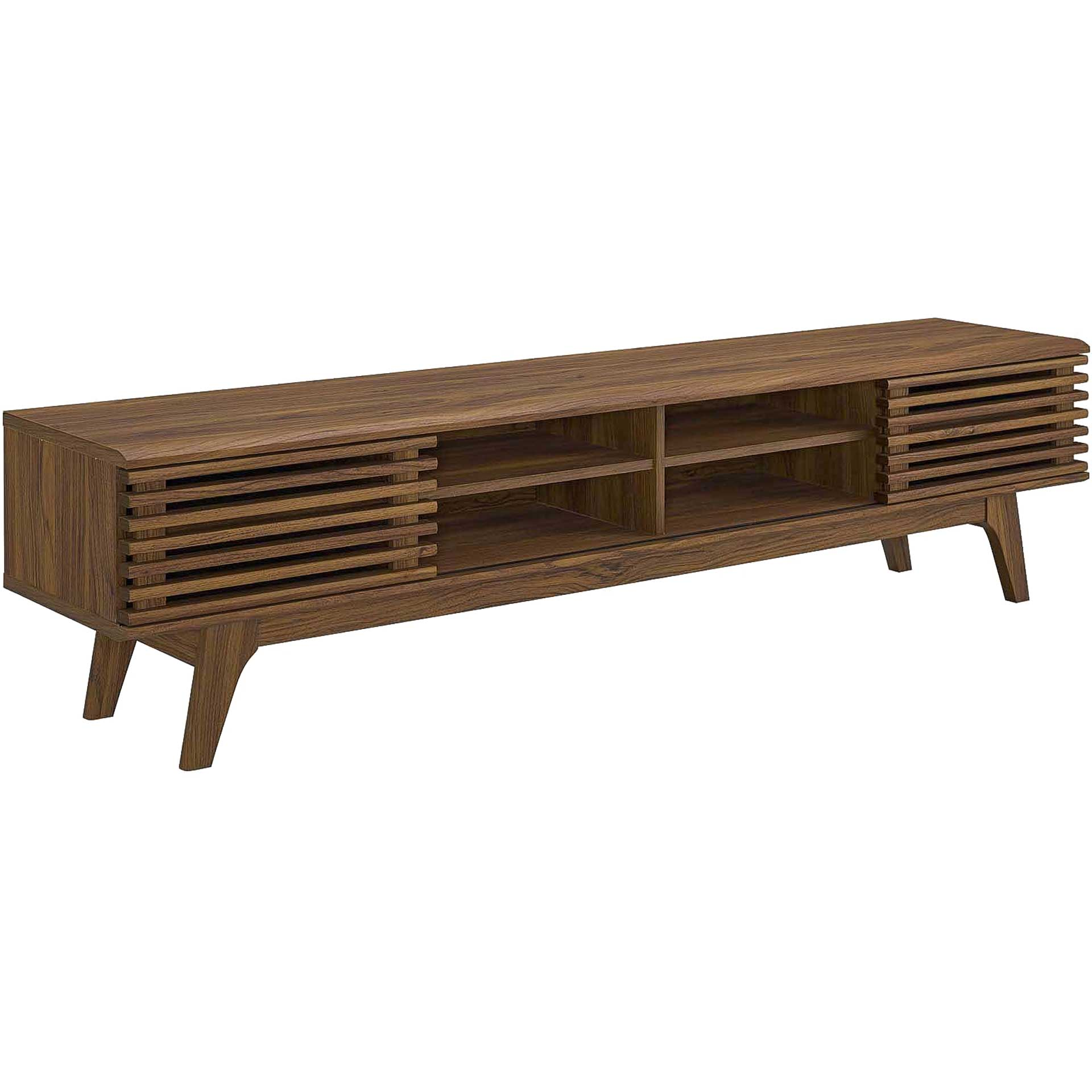 Reese Entertainment Center TV Stand Walnut