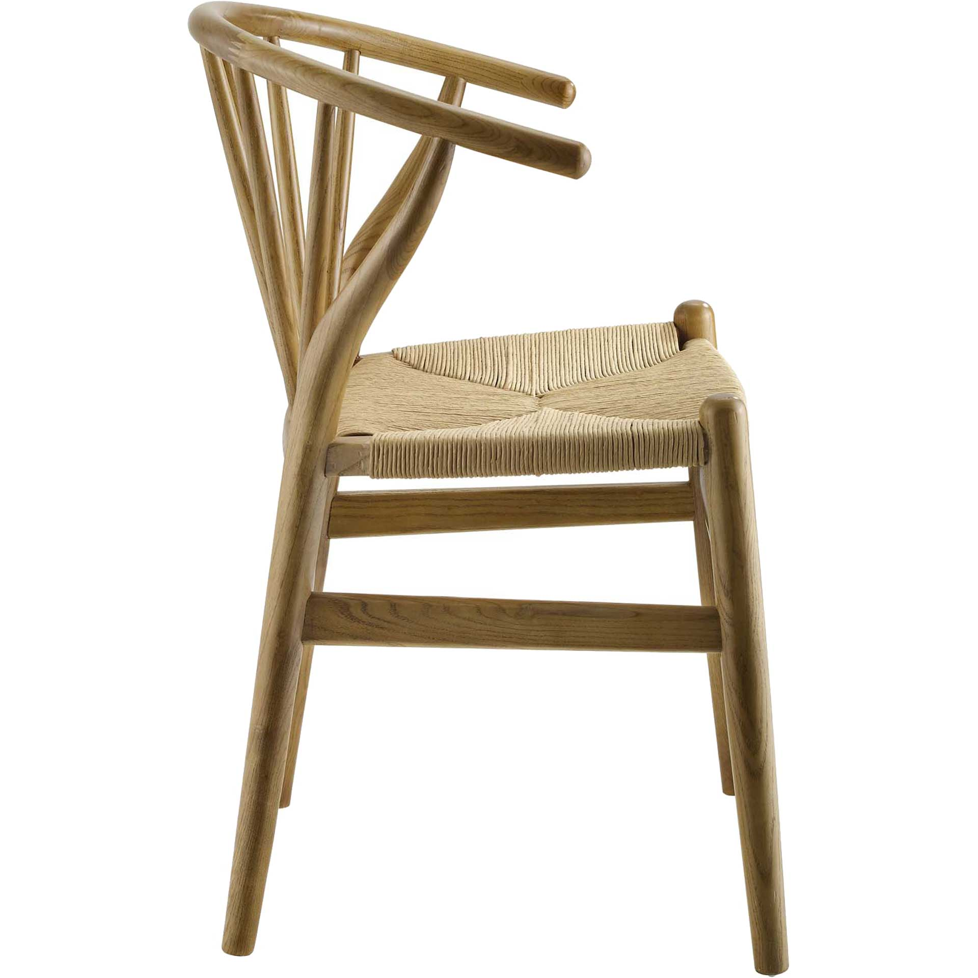 Foster Spindle Wood Side Chair Natural