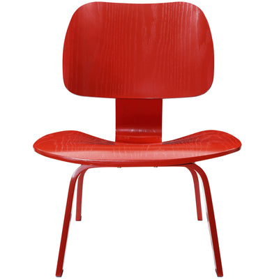 Faith Lounge Chair Red
