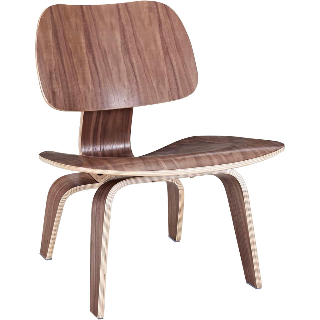Faith Lounge Chair Walnut
