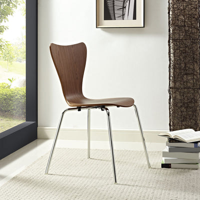 Eden Side Chair Walnut