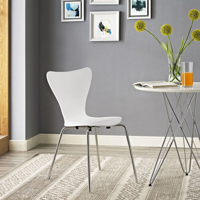 Eden Side Chair White