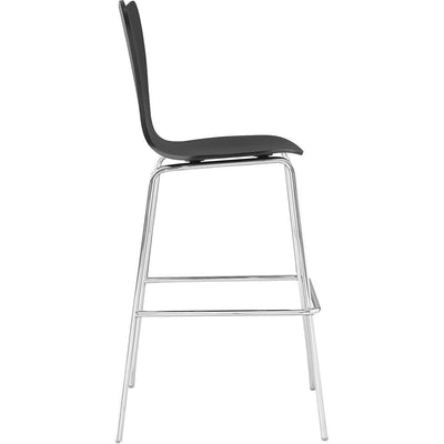 Eden Bar Stool Black