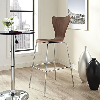 Eden Bar Stool Walnut