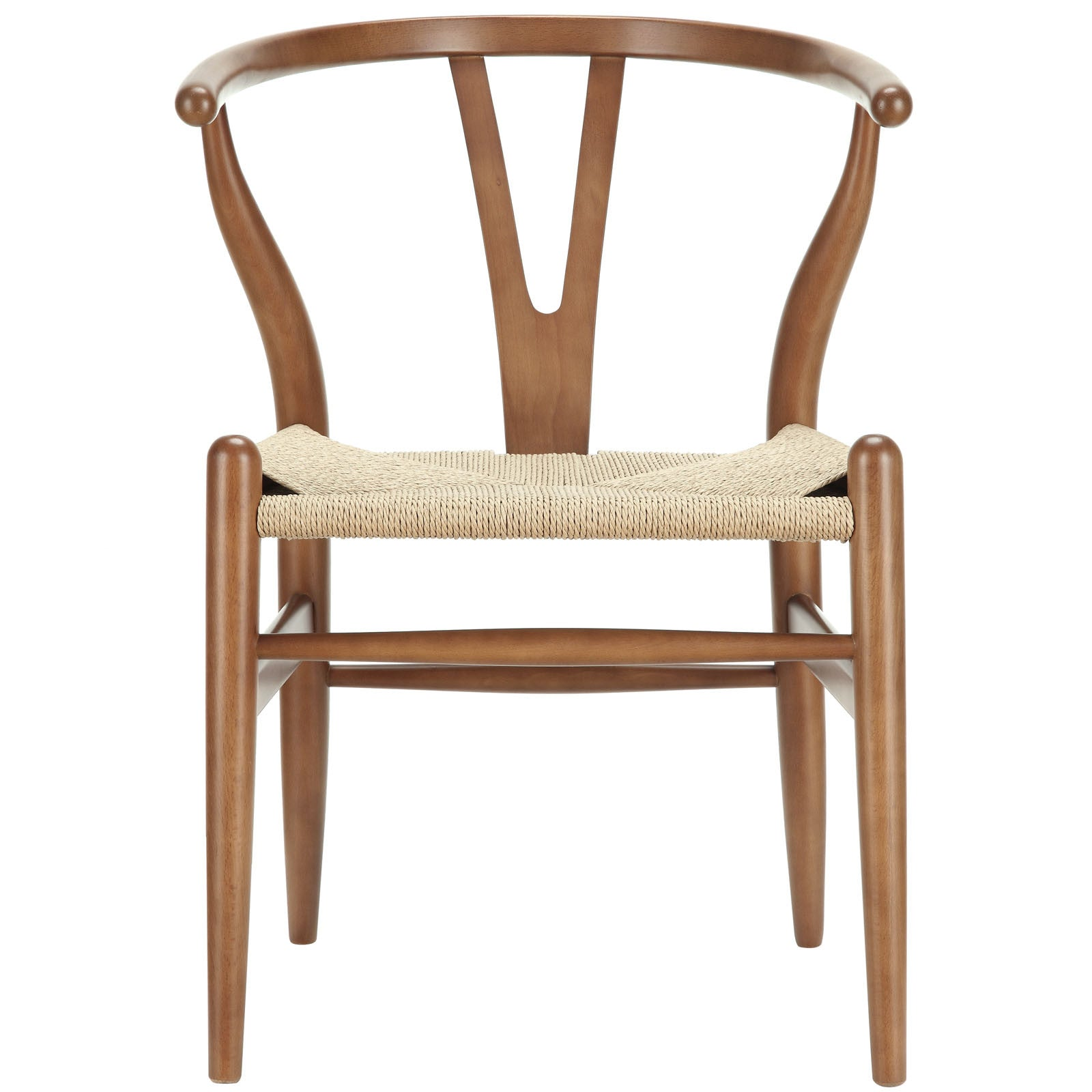 Amelot Wood Armchair Walnut