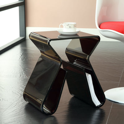 Mag End Table Black