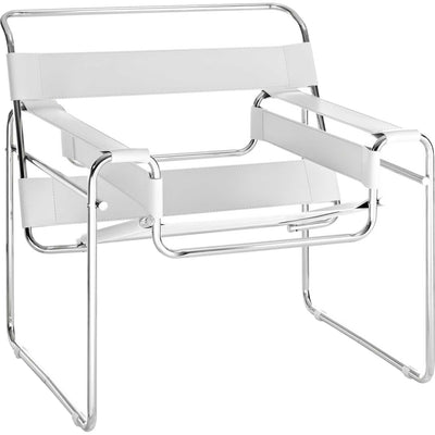 Solomon Lounge Chair White