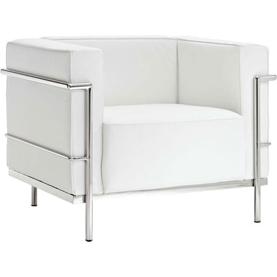 Chant Grande Armchair White