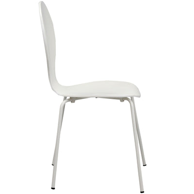 Inter Side Chair White