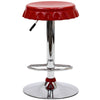 Cap Bar Stool Red
