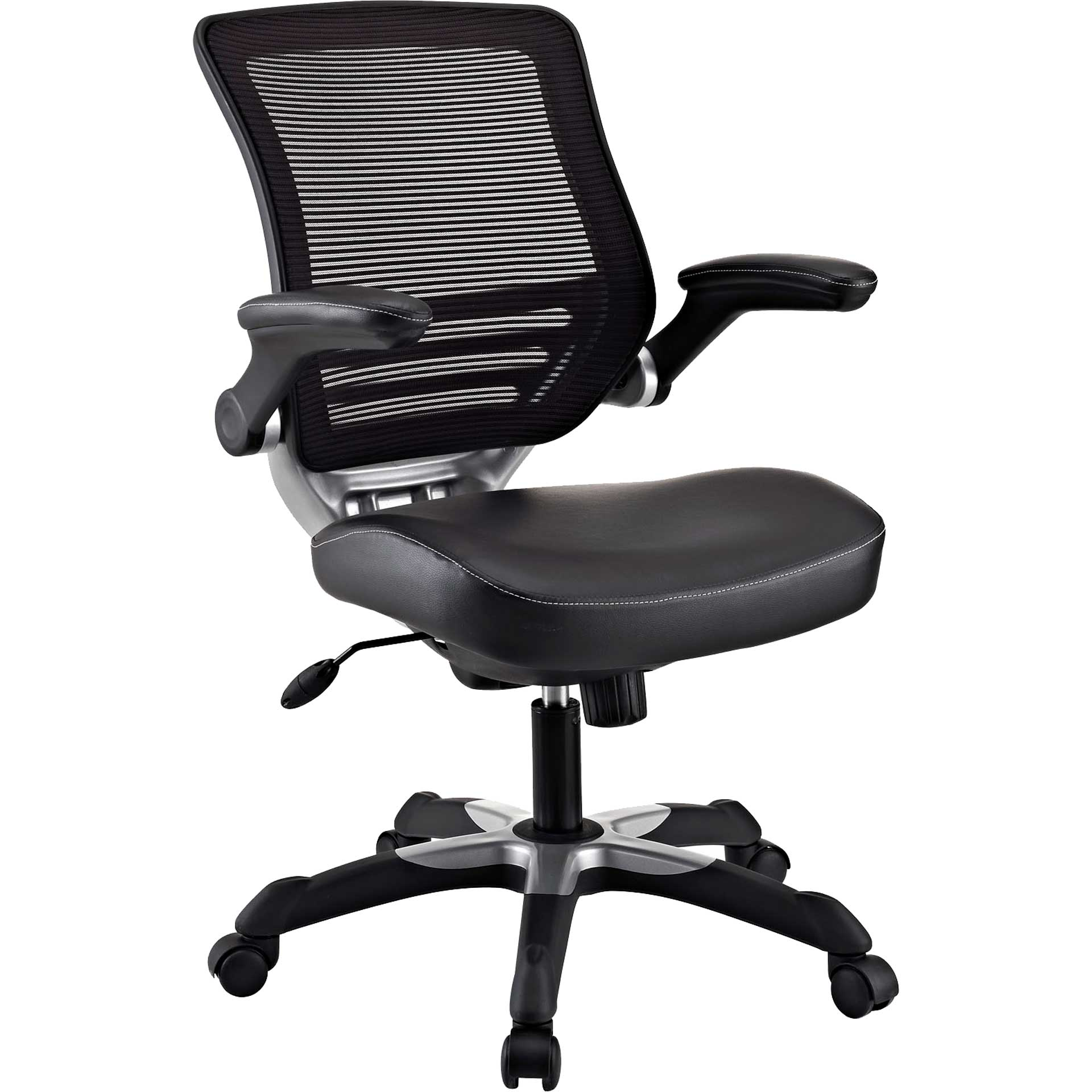 Eloise Vinyl Office Chair Black