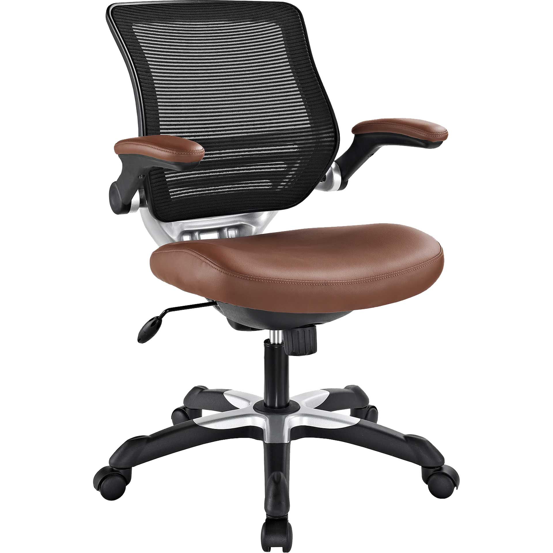 Eloise Vinyl Office Chair Tan