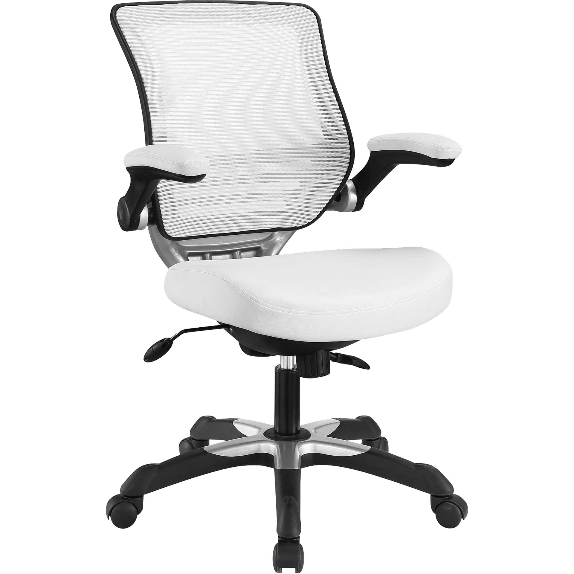 Eloise Vinyl Office Chair White