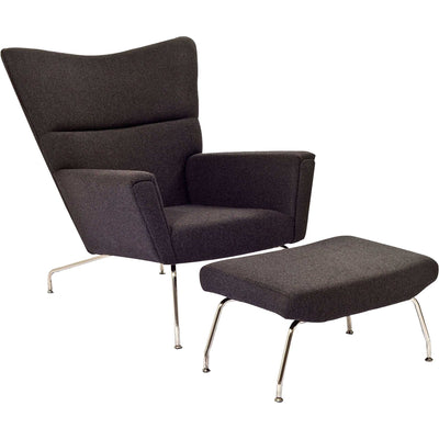 Clarell Lounge Chair Dark Gray