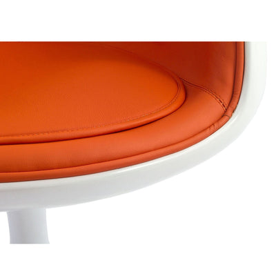Cusp Armchair Orange