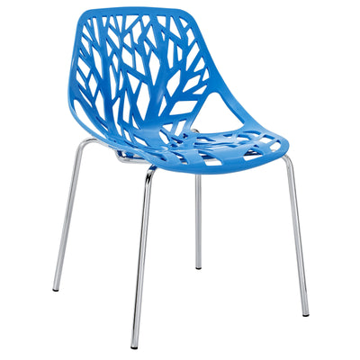 Story Side Chair Blue