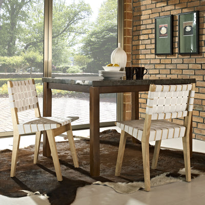 West Dining Side Chair White
